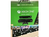 Xbox one boxed with Kinect