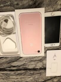 Pink IPhone 7 128BG Unlocked
