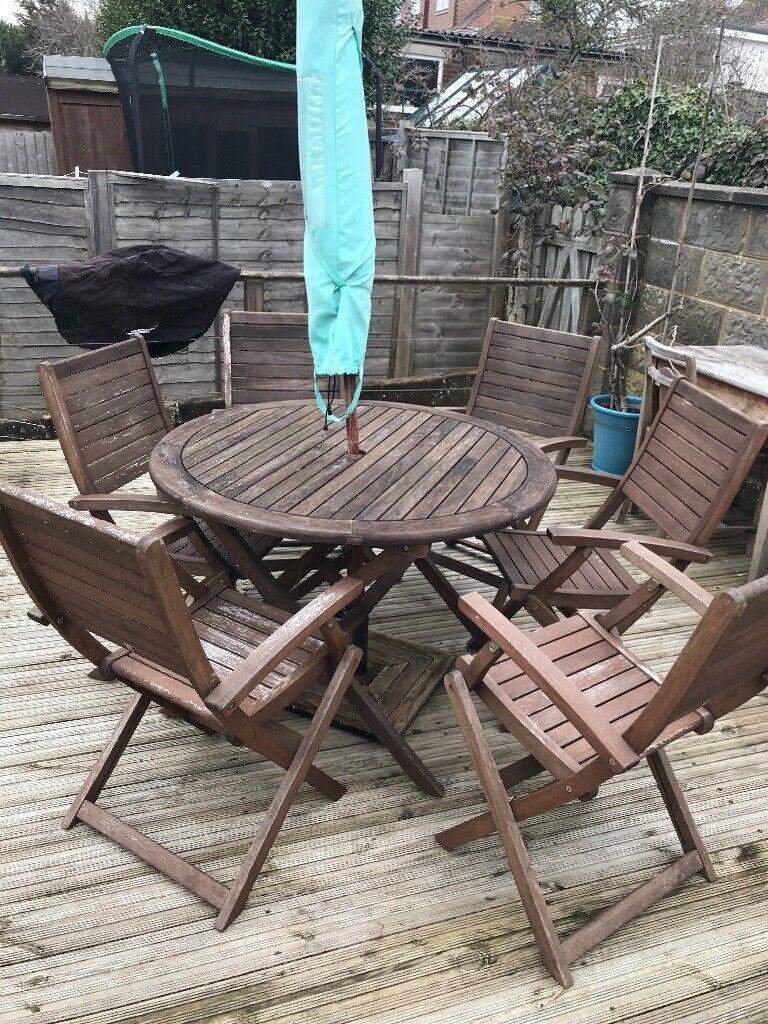 Complete garden/patio furniture set, homebase Peru set ...