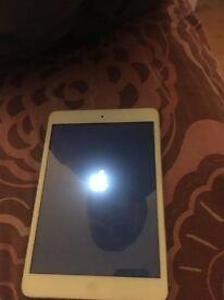 White iPad mini (abit faulty)