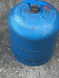 Camping gas bottle full