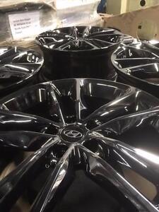 "ON SALE **PVD BLACK CHROME** Set of 4 OEM Hyundai 19"" wheels (H19x49.5GM) City of Toronto Toronto (GTA) Preview"