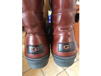 547e3a70b1 Size 5 Leather UGG Boots for sale