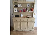 Welsh Dresser, Annie Slaone Painted and Waxed