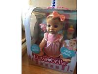 Luvabella blonde doll brand new