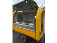 Catering Trailer Sweets Trailer Hot Dog Ice Cream Food Cart 2300x1650x2300