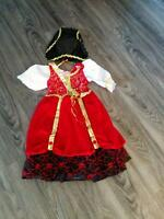 Size 4 Girls Pirate costume