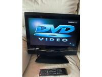 "Bush tv. Dvd player. 19"" good working condition."