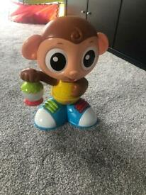 little tikes dancing monkey , Excellent Condition , Hardly Used , Looks New