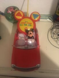 Mickey mouse control car