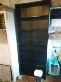 Black IKEA Billy bookcase