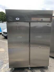 Commercial double door fridge for shop cafe restaurant freezer gdsszz