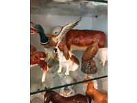 Different pieces of beswick