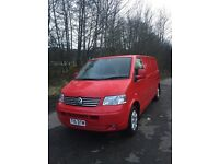 Vw transporter 2.5 td 5 cyclinder lwb