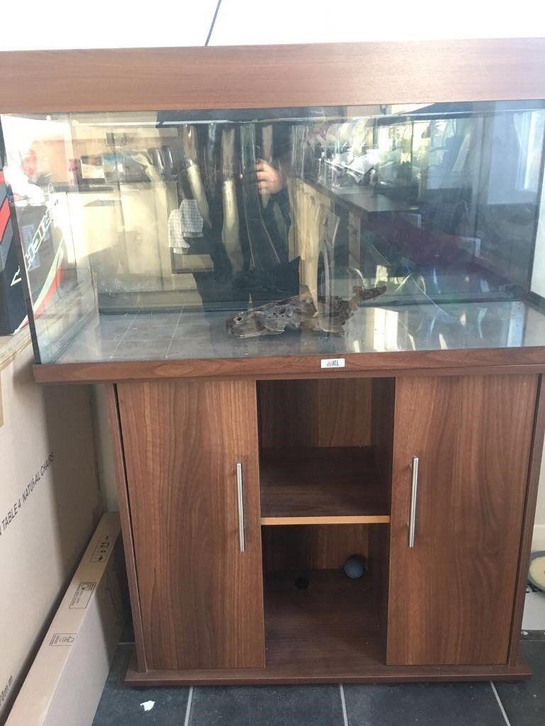 Juwel rio 240 aquarium fish tank - 4ft Juwel Rio 240 Marine Tropical Cold Water Fish Tank Aquarium With Setup