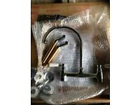 Brand New Victorian Bridge Kitchen Sink Tap Lamona