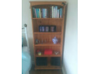 Two Solid Pine Bookshelves (£20 each)