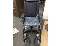 Invacare Fox 4MPH Indoor/outdoor Foldable Powerchair, Refurbished, New Batteries.