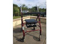 Lightweight 4 wheel walker £40 ono