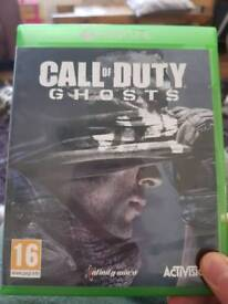 Call of duty. ghosts. Xbox one