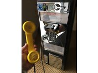 Iconic Old American Payphone - nice piece of Americana, for man cave or restaurant?