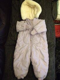 Marks & Spencer Snow suit Snowsuit 12-18 mths