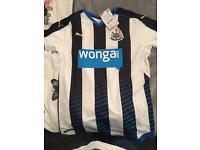 Newcastle united home shirt brand new