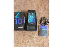 BlackBerry Z10 - 16GB - 4G - Unlocked - Excellent Condition
