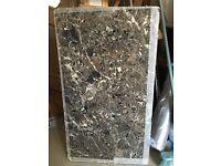 Free Wood Laminate Marble Design Worktop Offcuts x 2