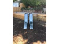 Stainless steel slide