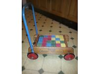 Vintage baby walker tri-ang 60s 70s excellent condition.shop prop nice item.