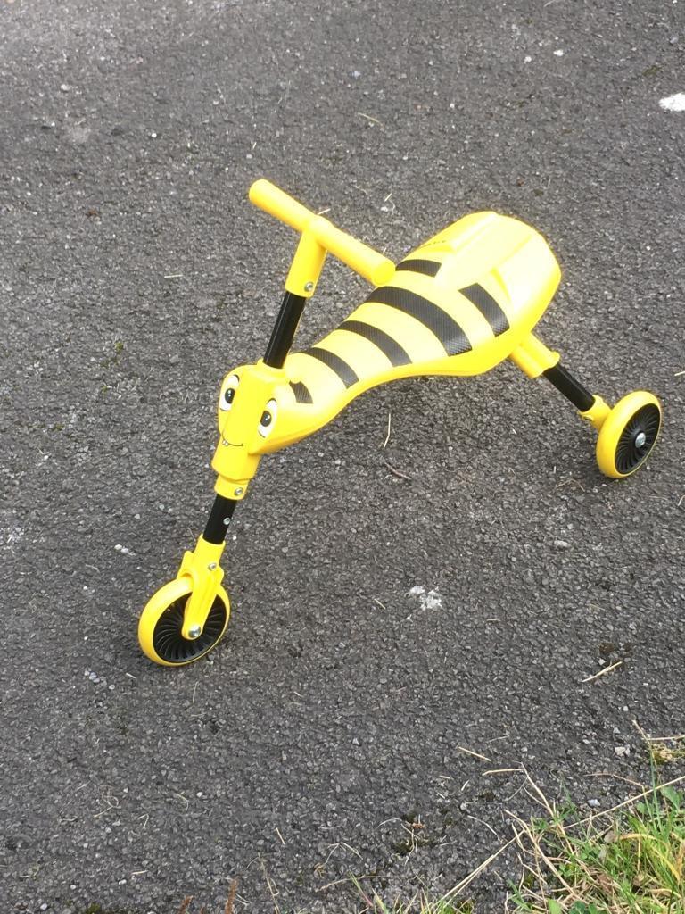 Scuttlebug yellow