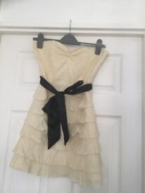 Silk and cotton party dress