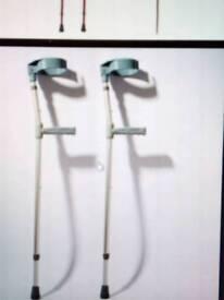 Hospital Walking sticks pair