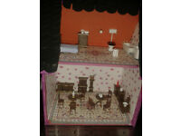 handmade small 1:48 dolls house