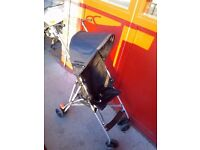 Pushchair stroller umbrella type lightweight and compact good as new!