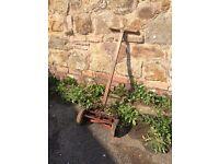 Antique vintage lawn mower