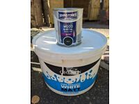 FREE - white and black paint