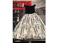 Skirt& top blouse