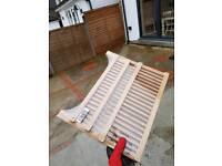 Wooden draining rack