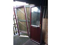 uPVC Front Door With 2 Keys Letter Box
