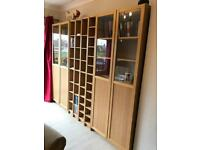 Bookcase /Wall units .... display cupboards