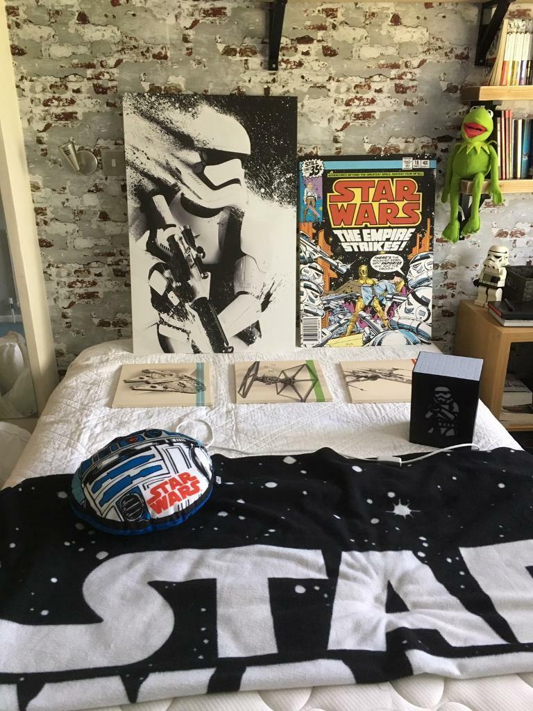 Star Wars canvas lamp pillow throw