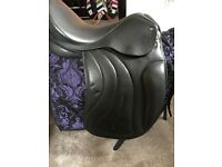 "Monoflap 17.5"" med-wide dressage saddle NEW ideal for Friesian"