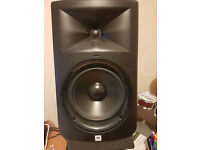 JBL LSR308 (PAIR) with pads, cables and stands