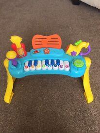 Baby Mozart piano