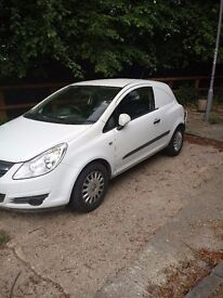 vauxhall corsa van spares or repair