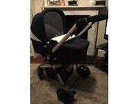 3 in 1 kinderkraft travel system pram/pushchair/car seat - only 6 months old