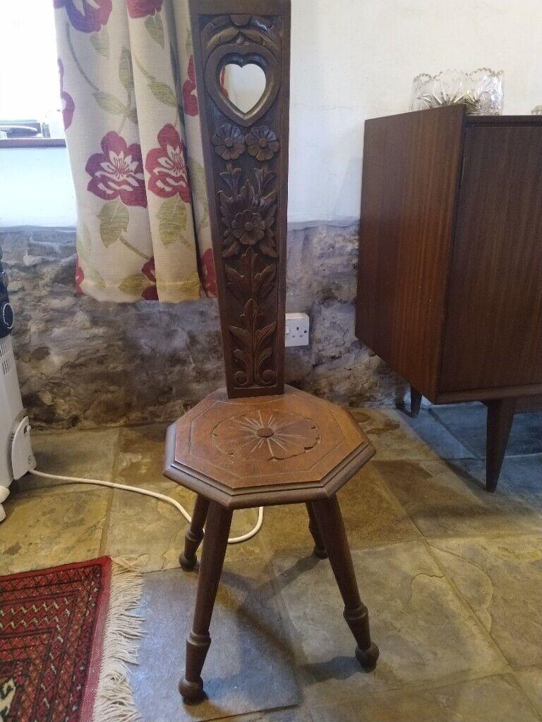 Antique spinning chair | in Barnstaple, Devon | Gumtree