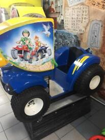 Children's coin operated ride